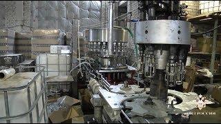 В Рязанской области пресечено крупное производство фальсифицированного алкоголя