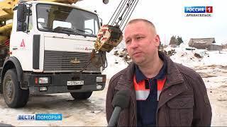 В Виноградовском районе приступили к строительству моста через реку Топсу