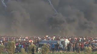 Протесты в секторе Газа: погибшие и раненые