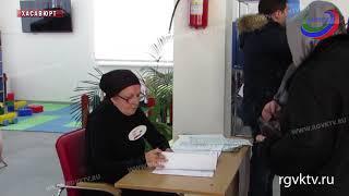 В Хасавюрте к полудню проголосовали более 40% горожан