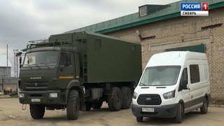На дорогах Алтайского края появились новые мобильные таможенные комплексы