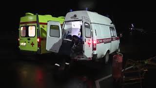 Спец борт МЧС доставил детей с ожогами в Нижний Новгород