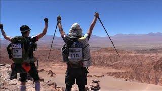 Экстремальный марафон в чилийской пустыне