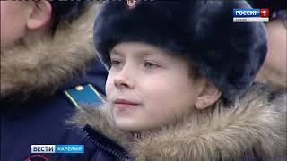 Посвящение в кадеты в петрозаводском Президентском училище