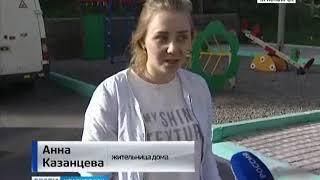 В Студгородке трещина подбирается к жилому дому