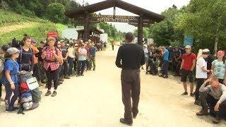 Спецрепортаж: слет туристов в Лагонаки