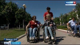 «Без барьеров»: корреспондент ГТРК «Марий Эл» ненадолго пересела в инвалидную коляску