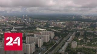 Москва тонет: на город вылилась почти половина месячной нормы осадков - Россия 24