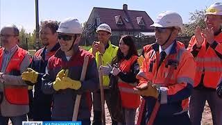 Строители Приморской ТЭС провели «Зелёный субботник»