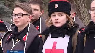 """В Ростове реконструировали """"Ледяной поход"""" генерала Корнилова"""
