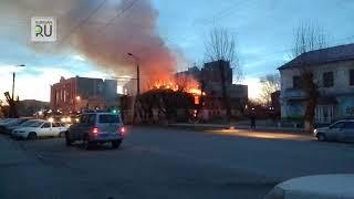 """""""Мобильные новости"""" """"Пожар на Куйбышева"""""""