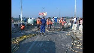 В Краснодаре приступили к ремонту Яблоновского моста