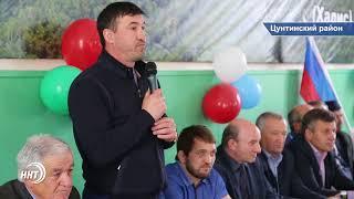 Борцов станет больше. В Цунтинском районе  открыли очередной спортивный зал