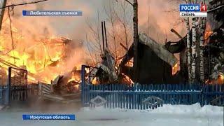 Две сельских школы сгорели в Иркутской области