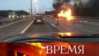 Семь человек погибли в результате ДТП с микроавтобусом в Петербурге.