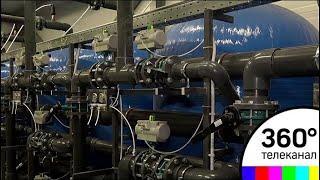 В поселке Вербилки Талдомского района открыли станцию очистки питьевой воды