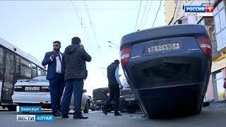 «Порше» выскочил передо мной без поворотников!»: водитель «Мазды» рассказал о ДТП в Барнауле