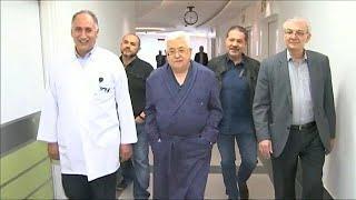 Аббас остается в больнице