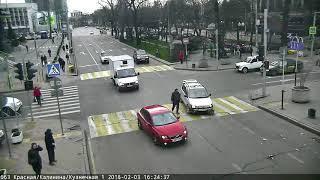Перекрёсток улиц Красная и Кузнечная, 3 февраля