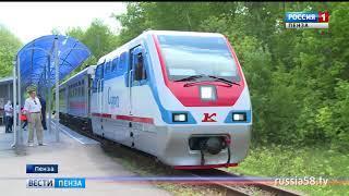 Пензенская детская железная дорога открыла новый сезон