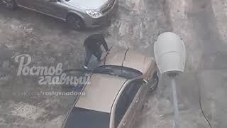 Гололёд на Миронова 7.3.2018 Ростов-на-Дону Главный
