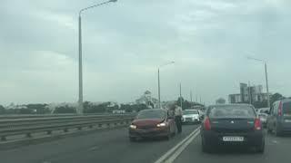 ДТП в Ярославле: легковушка влетела в фуру