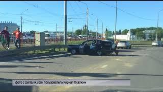 На Московском проспекте Ярославля произошло крупное ДТП