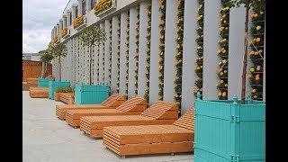 В Уфе продолжается строительство набережной, не имеющей аналогов в России
