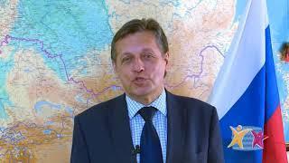 Заместитель гендиректора ВГТРК Рифат Сабитов приветствует открытие телефестиваля «Человек и море»