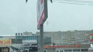 Качающийся щит на рынке Тухачевского