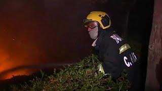 Борьба лесными пожарами в Португалии затягивается