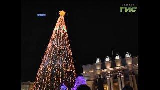 Самара готовится к Новому году. На площади Куйбышева в этом году появится новая елка