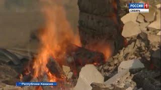 Подозреваемый в поджоге туристической базы задержан в Хакасии