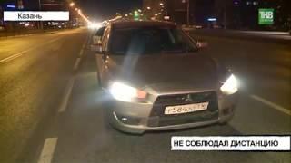В результате аварии, которая произошла на проспекте Ямашева, пострадала 20-летняя девушка - ТНВ