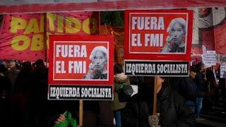 Аргентина: протесты против МВФ
