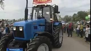 """Гонки на тракторах: победителем """"Бизон-Трек-Шоу"""" стал житель Азовского района"""