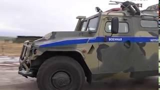 На территории Рощинского полигона состоялись масштабные тактические учения военной полиции
