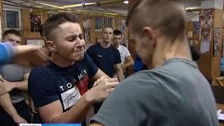 В Калининграде завершились межвузовские соревнования по армрестлингу
