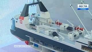 На Улице Дальнего Востока можно увидеть разработку уникального судна. 2