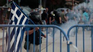 Греки против, македонцы против