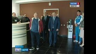 В Адыгее побывали руководители Стрелкового союза России