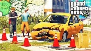 РЕАЛЬНАЯ ЖИЗНЬ ДЖИММИ В GTA 5 - СЫН РАЗБИЛ КАЛИНУ! ДТП НА ЛАДЕ КАЛИНЕ!  ⚡ГАРВИН