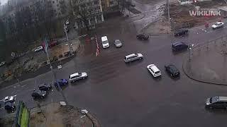 Кобринский мост. ДТП. 01.04.2018. Брест