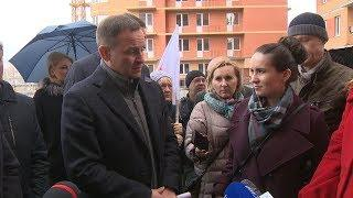 Депутат Госдумы Александр Сидякин встретился с дольщиками ЖК «Доминант»