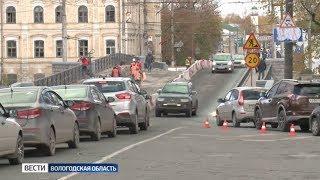 Схема движения возле Октябрьского моста в Вологде будет изменена