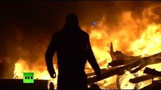 Battlefield Paris: Fiery 'Yellow Vest' protests continue into the night