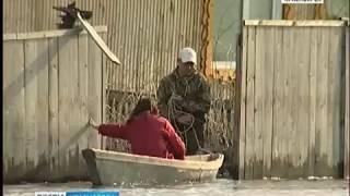 В Туруханском районе практически полностью затопило село Ворогово