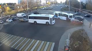 ДТП с участием маршрутного автобуса