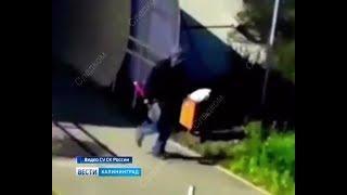 Избивший ребёнка лопатой попал на камеры видеонаблюдения