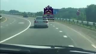 Поведение Водителя до ДТП на трассе 28.06.2018 ЧП Красноярск